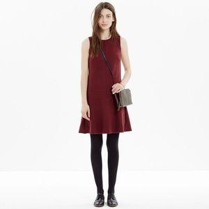 Like New Madewell Foyer Burgundy Sleeveless Dress